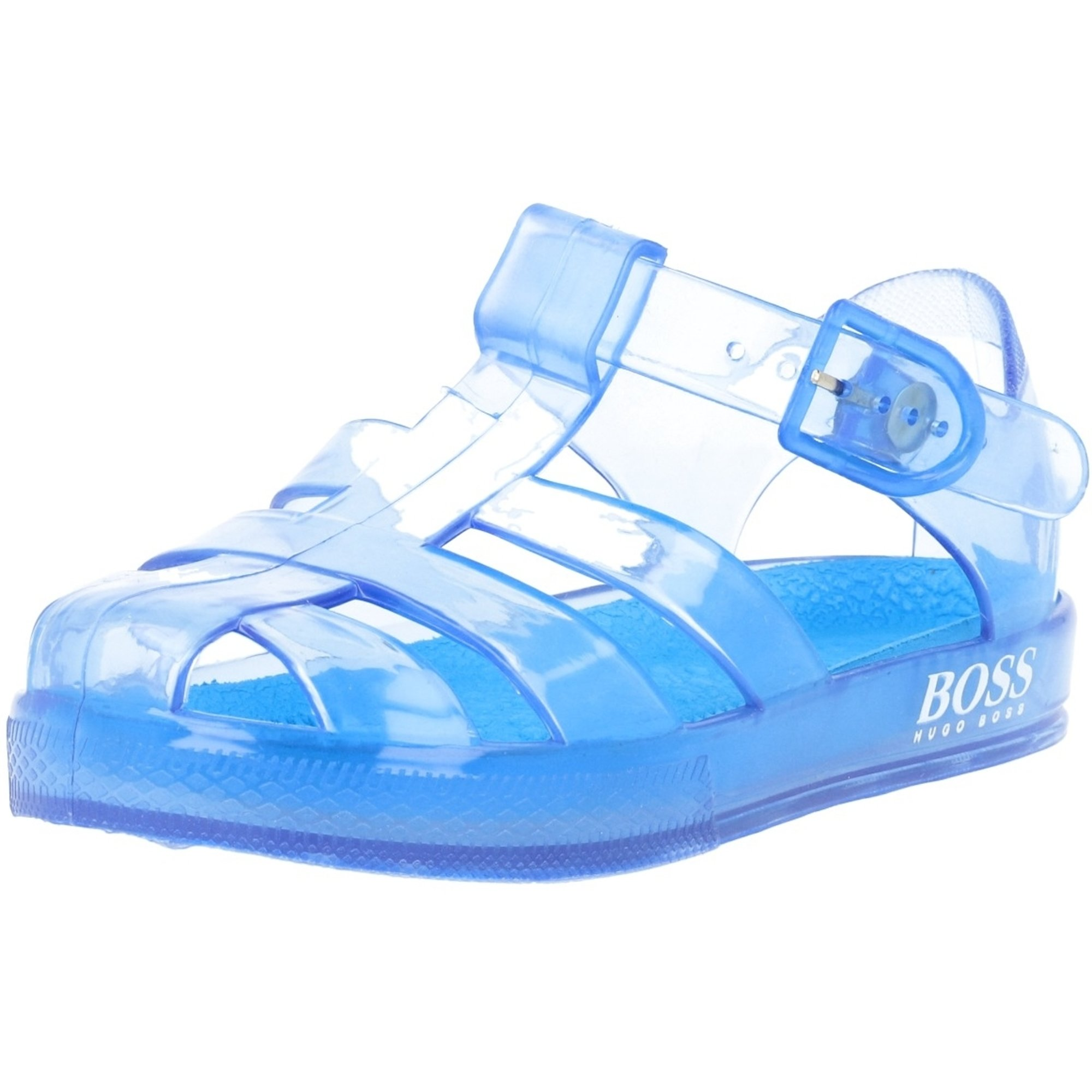 BOSS Jelly Sandals Turquoise PU
