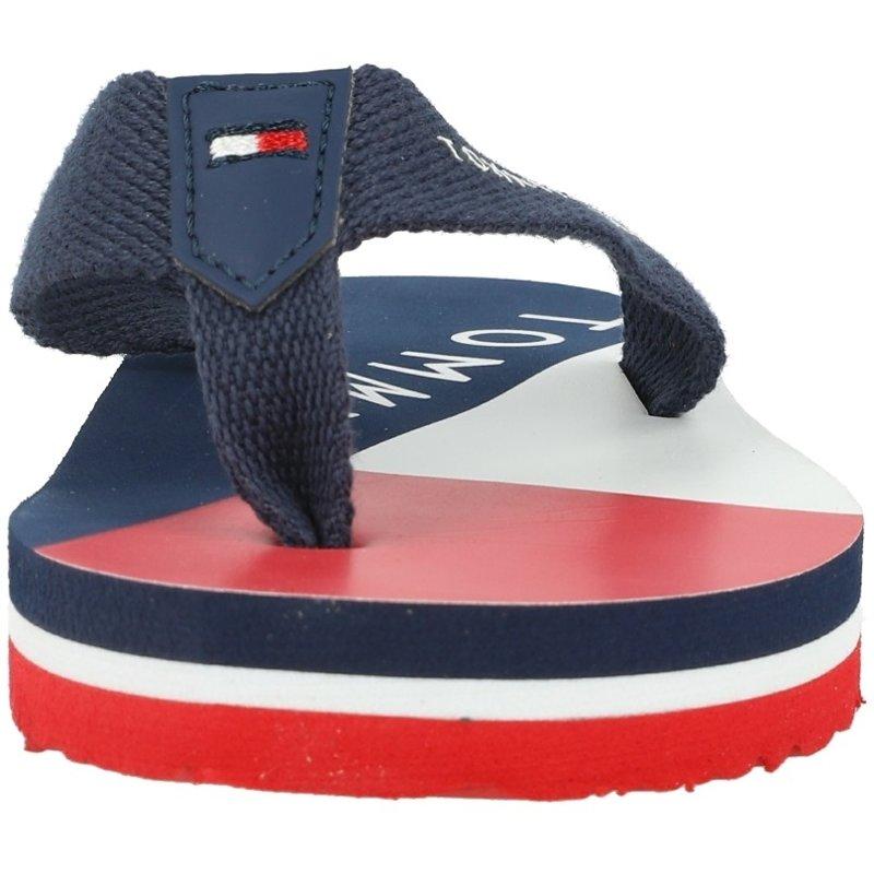 Tommy Hilfiger Flip Flop Blue Textile