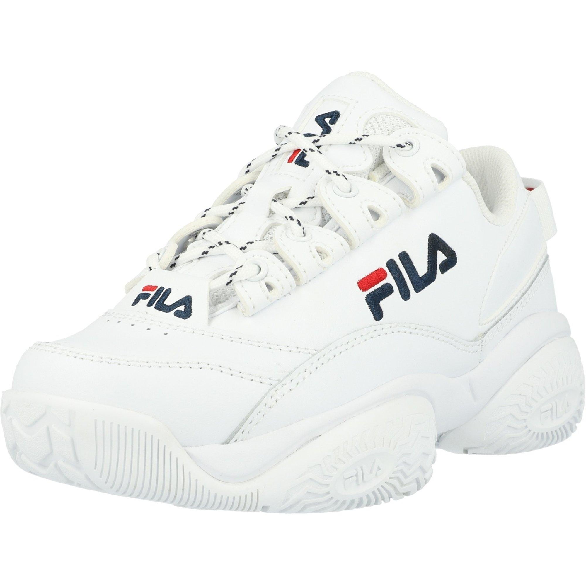 FILA Provenance White/Fila Navy Suede