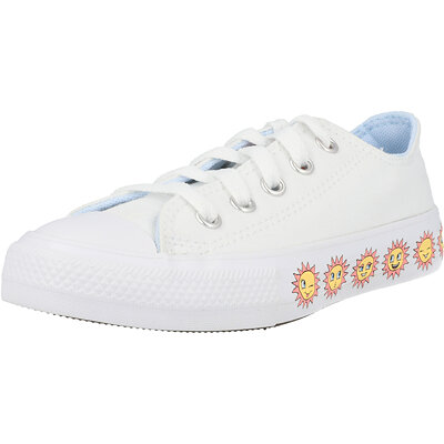 Chuck Taylor All Star Sunny Side Ox Sun Graphic Junior childrens shoes