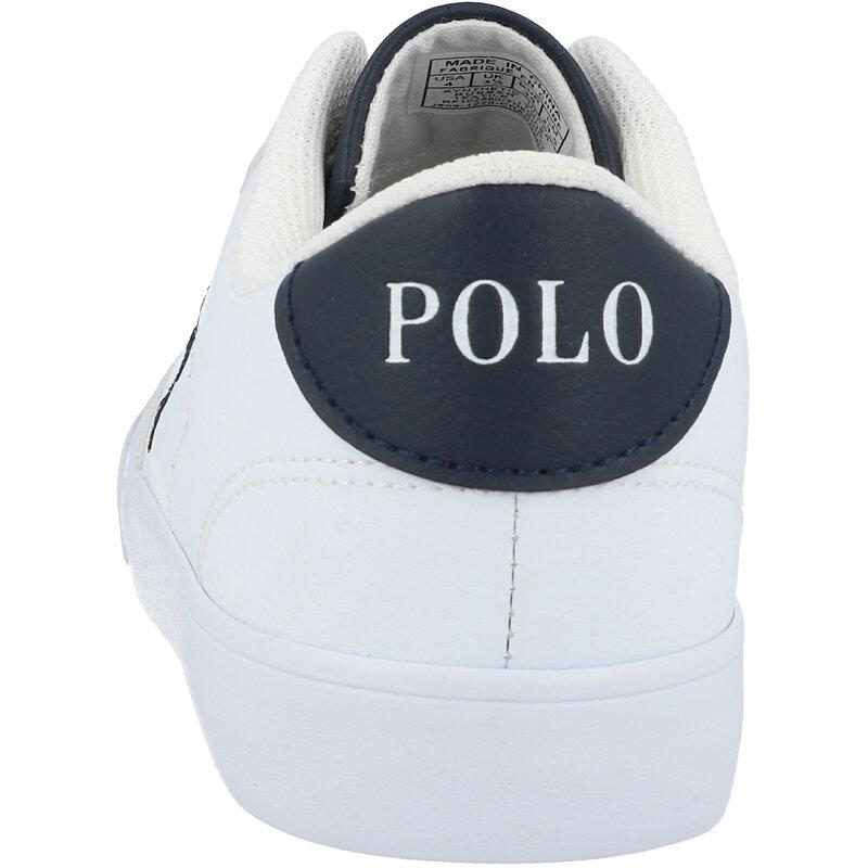 Polo Ralph Lauren Theron IV J White/Navy Tumbled