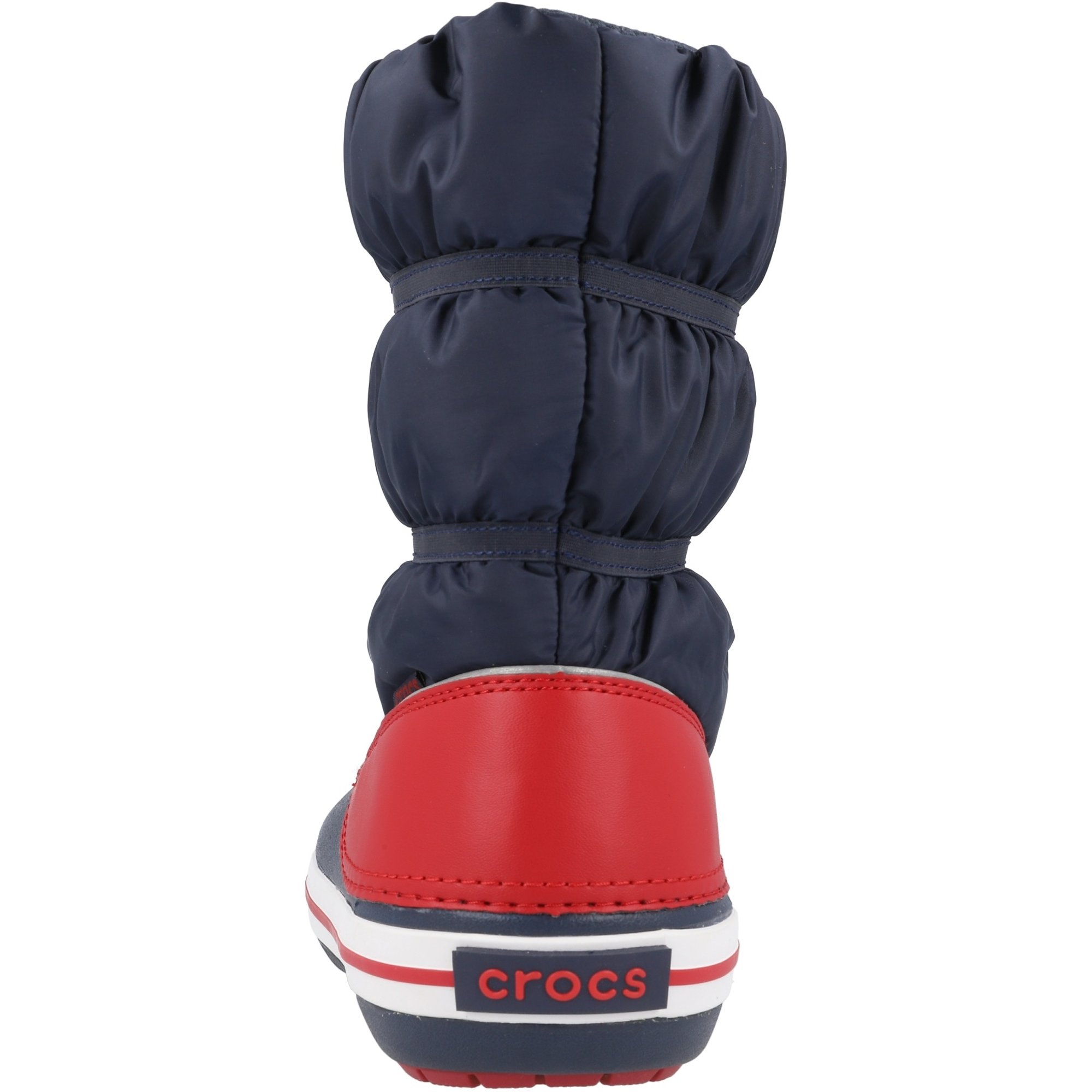 Crocs Kids Crocband Winter Boot Navy/Red Croslite