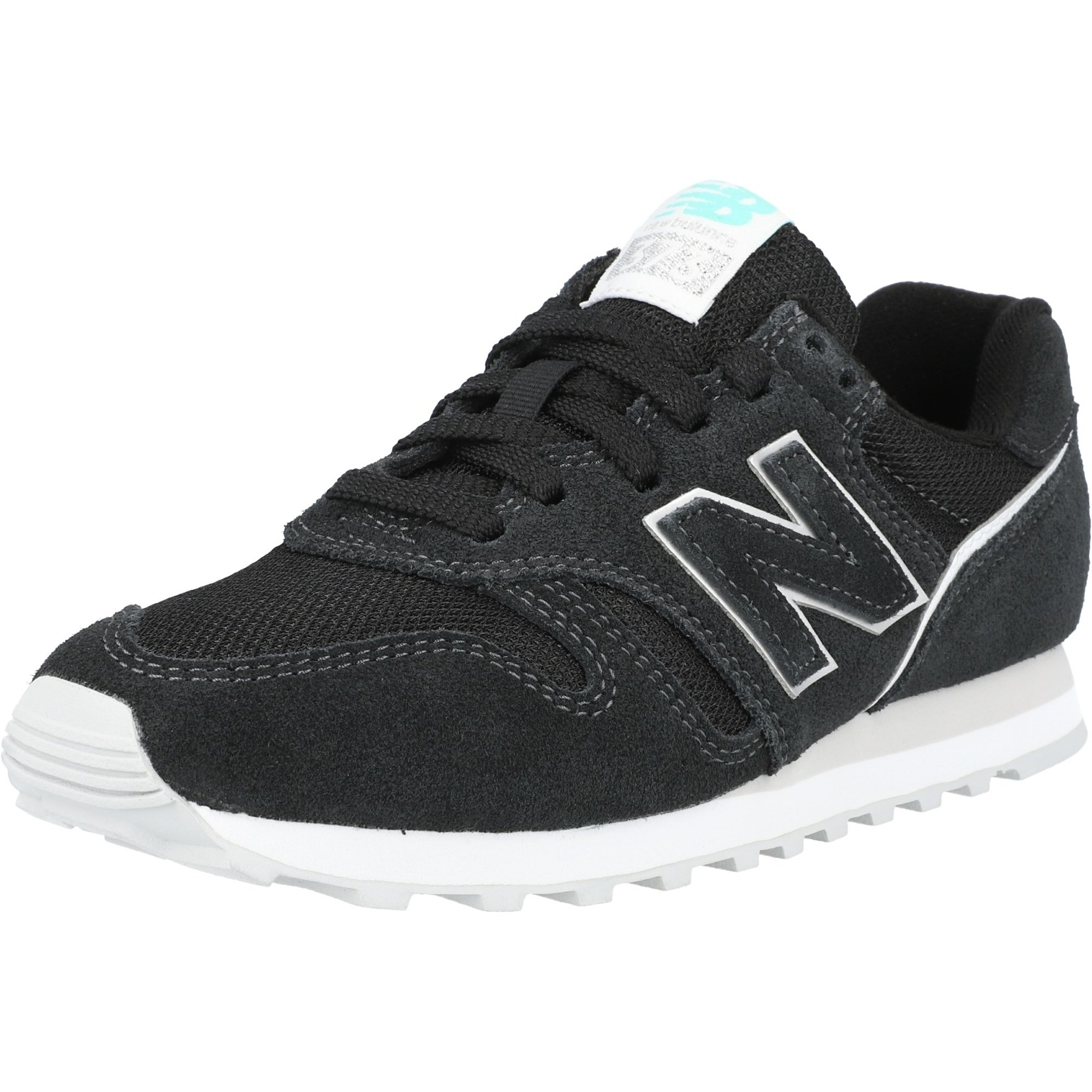 New Balance 373 Black/White Suede