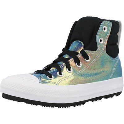 Chuck Taylor All Star Berkshire Boot Hi Iridescent Junior childrens shoes