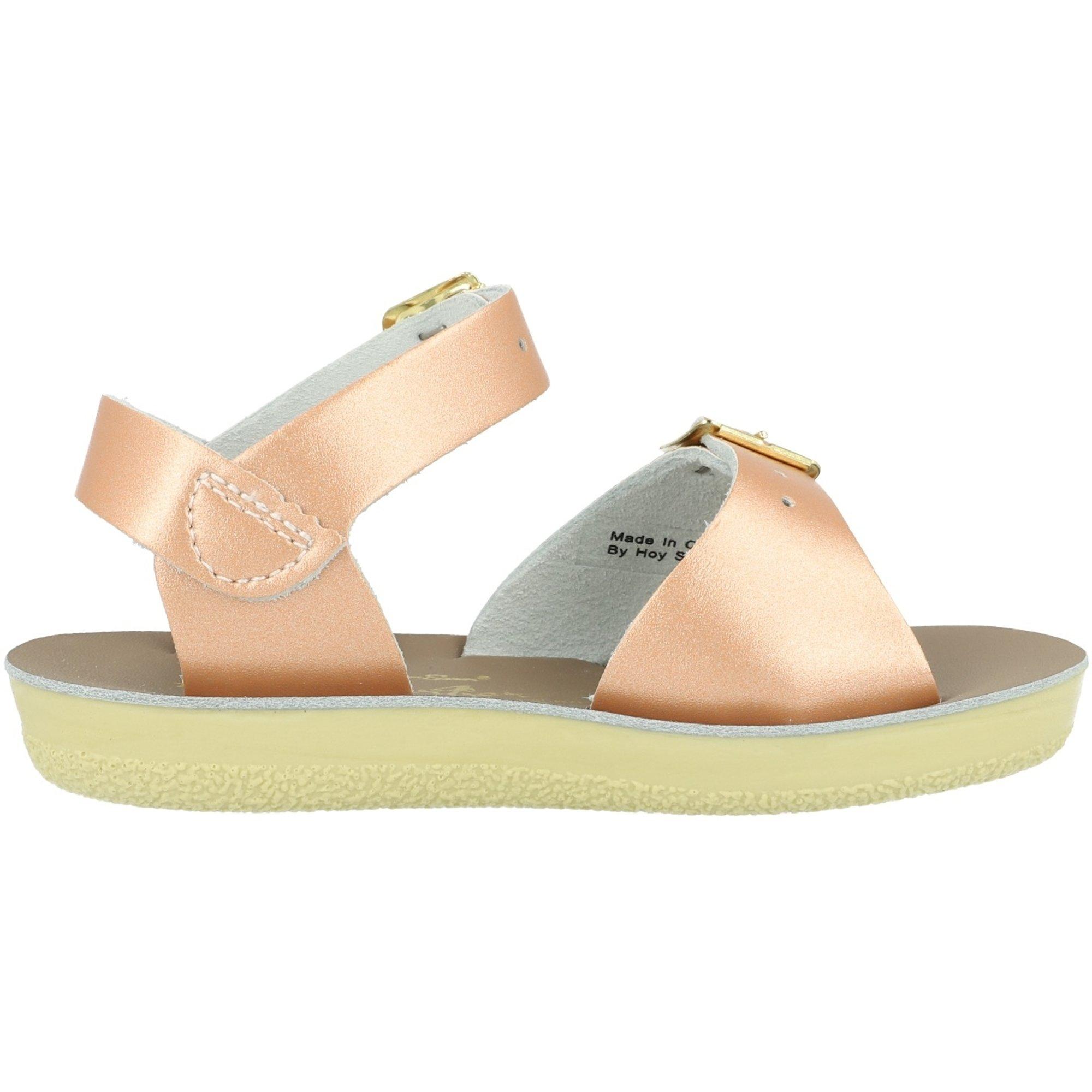 Salt Water Sandals Sun-San Surfer Rose Gold Leather