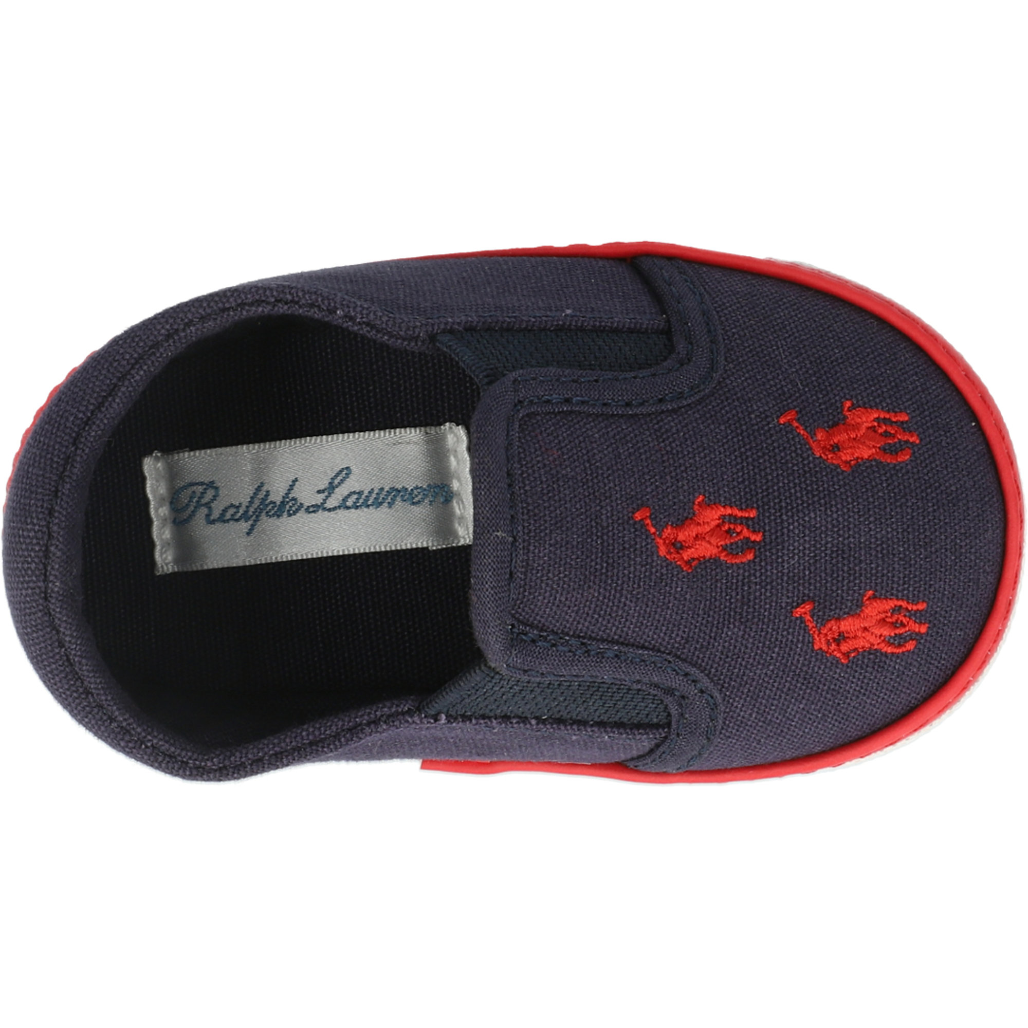 Polo Ralph Lauren Bal Harbour Repeat Layette Navy/Red Canvas