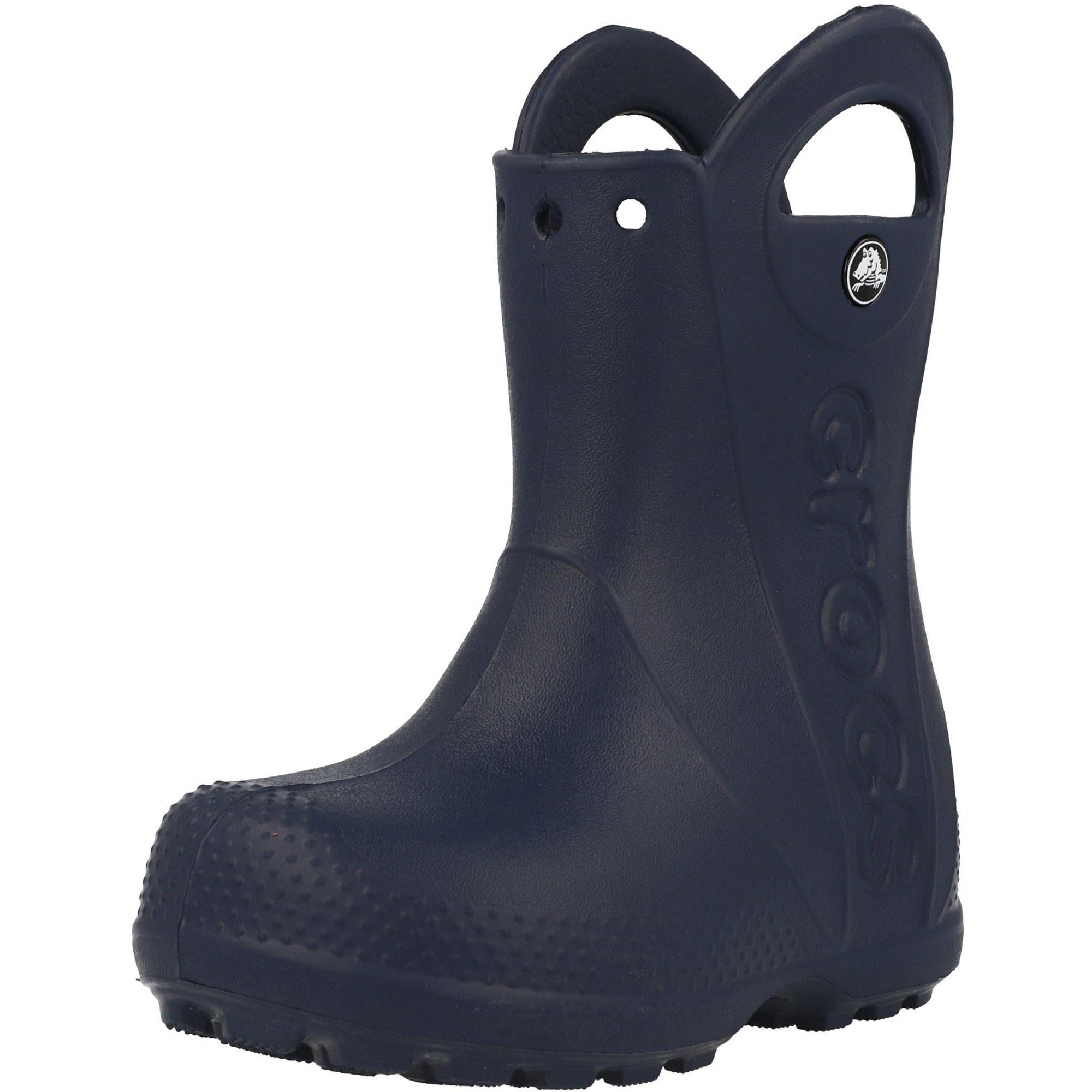 Crocs Kids Handle It Rain Boot Navy Croslite
