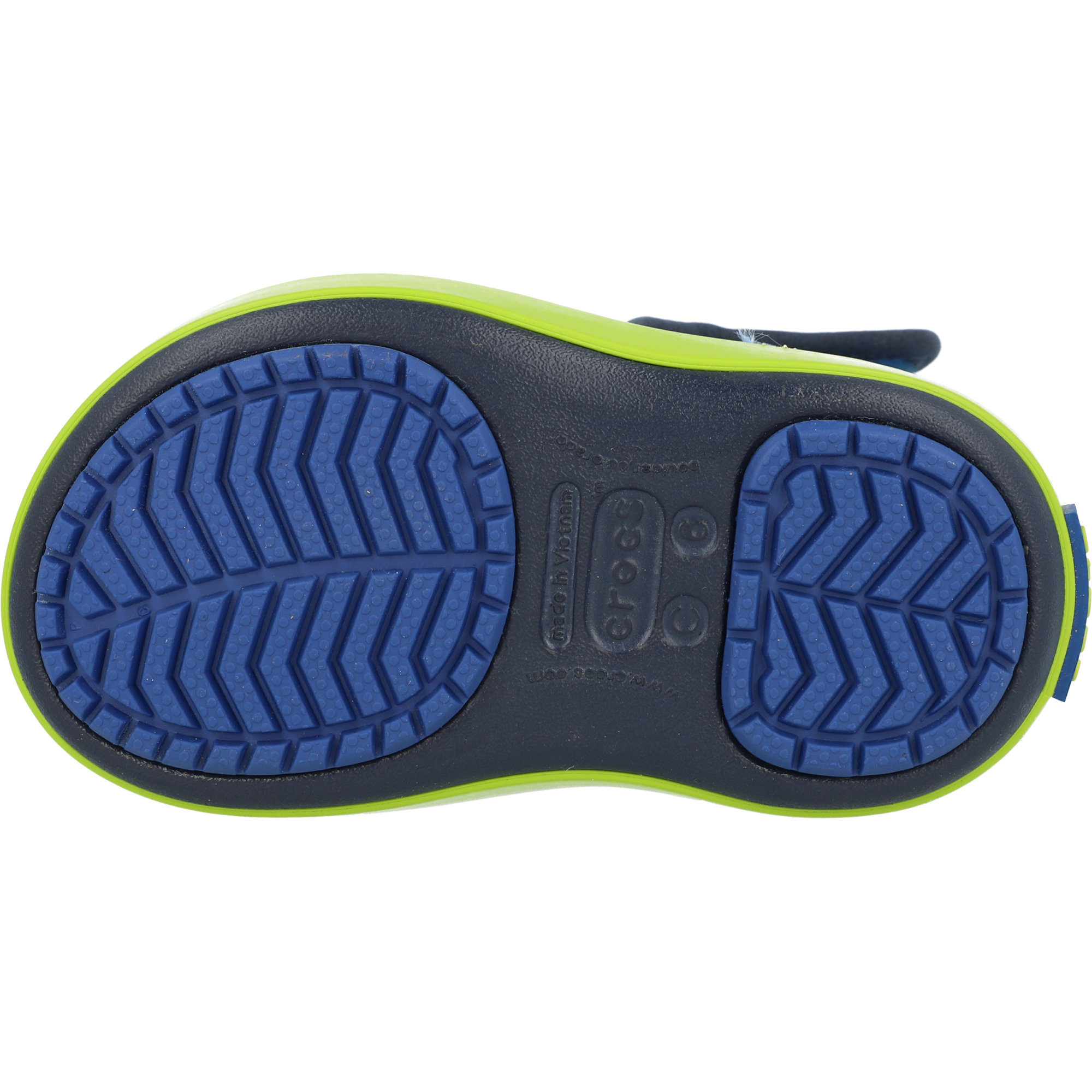 Crocs Kids LodgePoint Snow Boot Blue Jean/Navy Croslite
