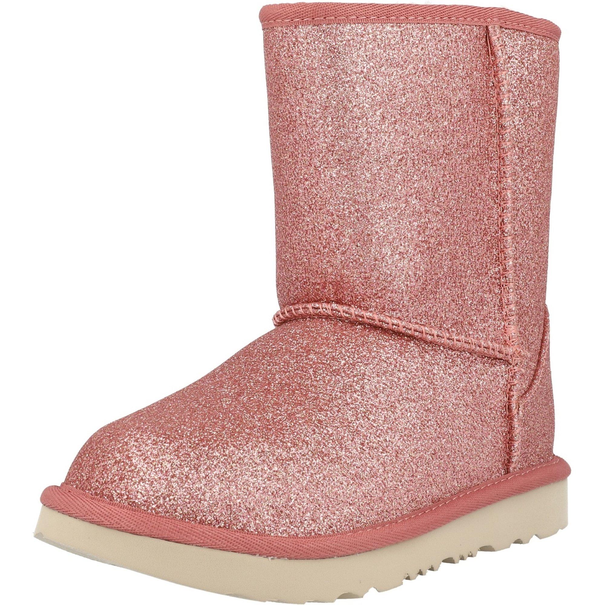 UGG Classic Short II Glitter K Pink