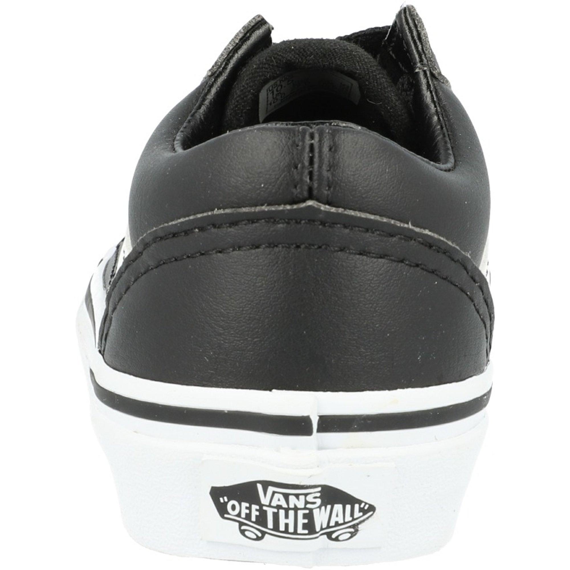 Vans UY Old Skool Black Tumbled Leather