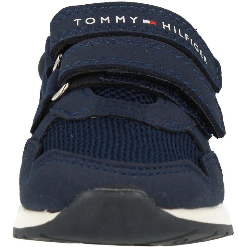 Tommy Hilfiger Trainer Blue Eco Suede