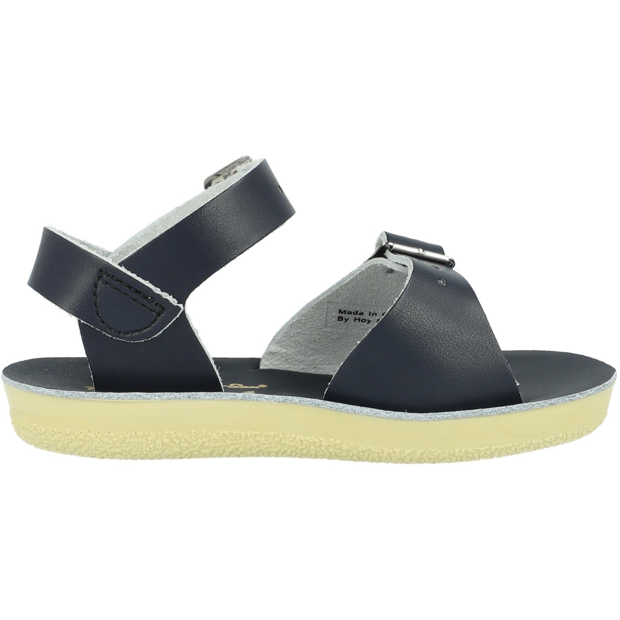 Salt Water Sandals Sun-San Surfer Navy Leather