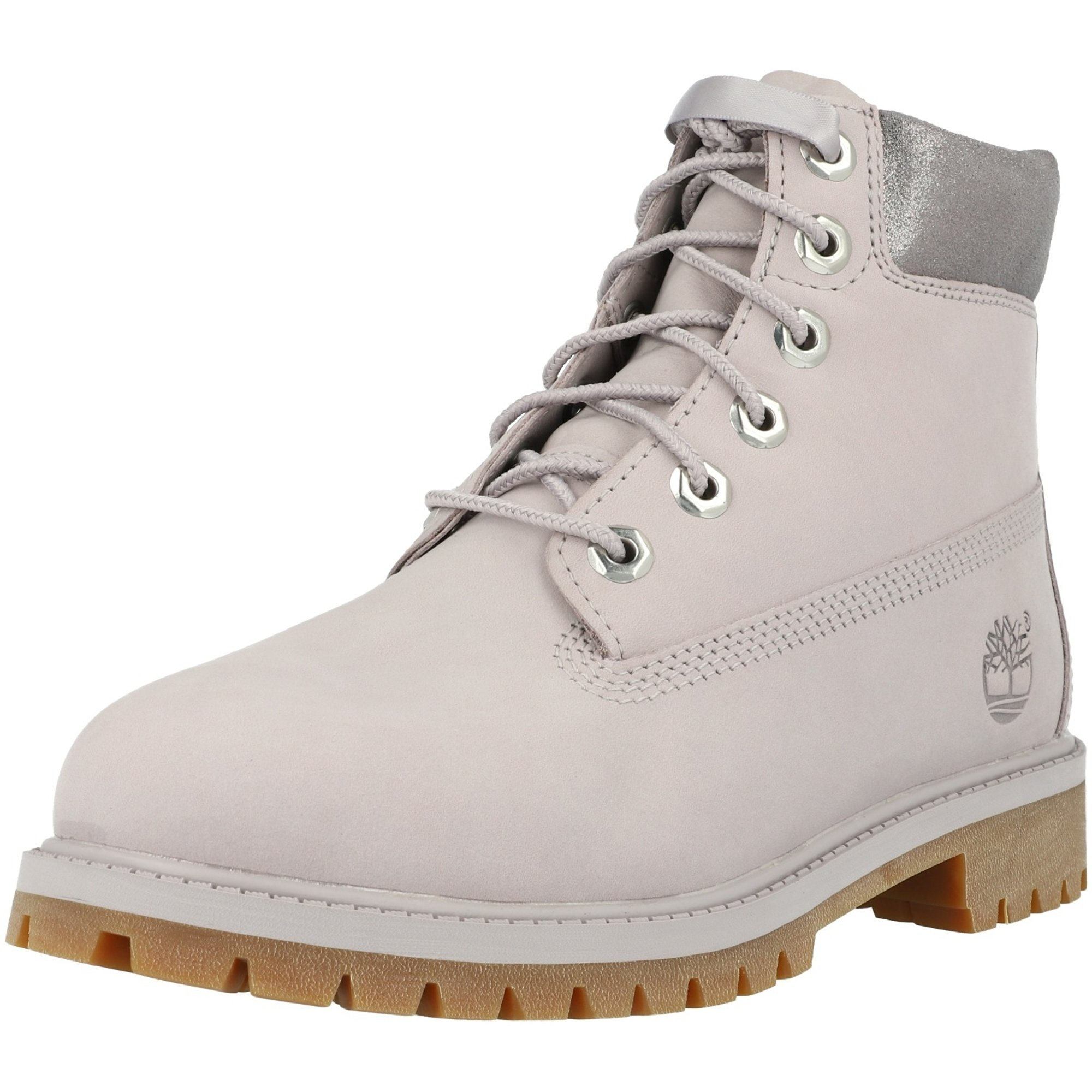 Desaparecido juego Asia  Timberland 6 Inch Premium Waterproof J Gris (Light Grey) Nobuck - Tobillo  Botas - Awesome Shoes