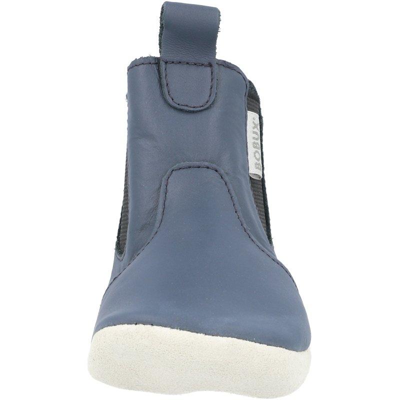 Bobux Soft Sole Jodhpur Navy Leather