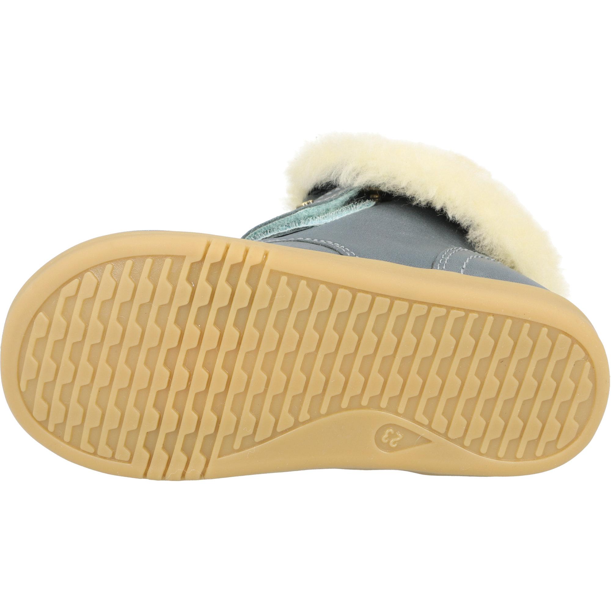 Bobux i-Walk Desert Arctic Slate Quickdry Vintage-Look Leather