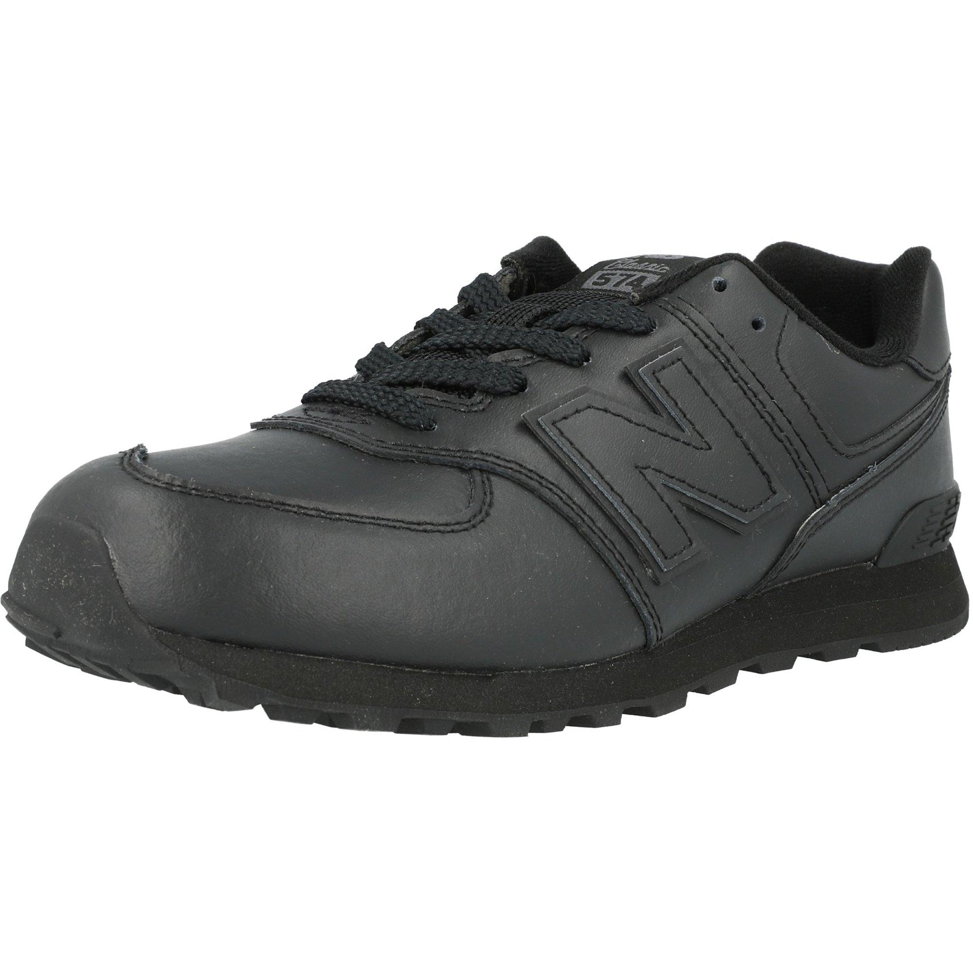 New Balance 574 Black Leather