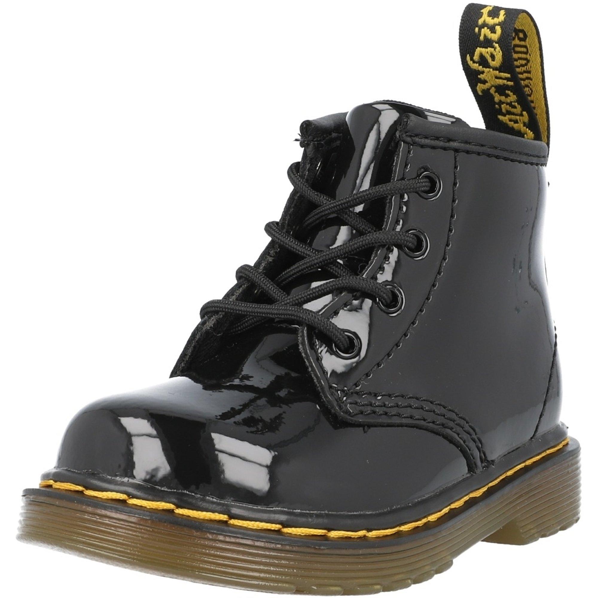 su Erudito Ejercicio mañanero  Dr Martens 1460 I Negro Charol - Tobillo Botas - Awesome Shoes