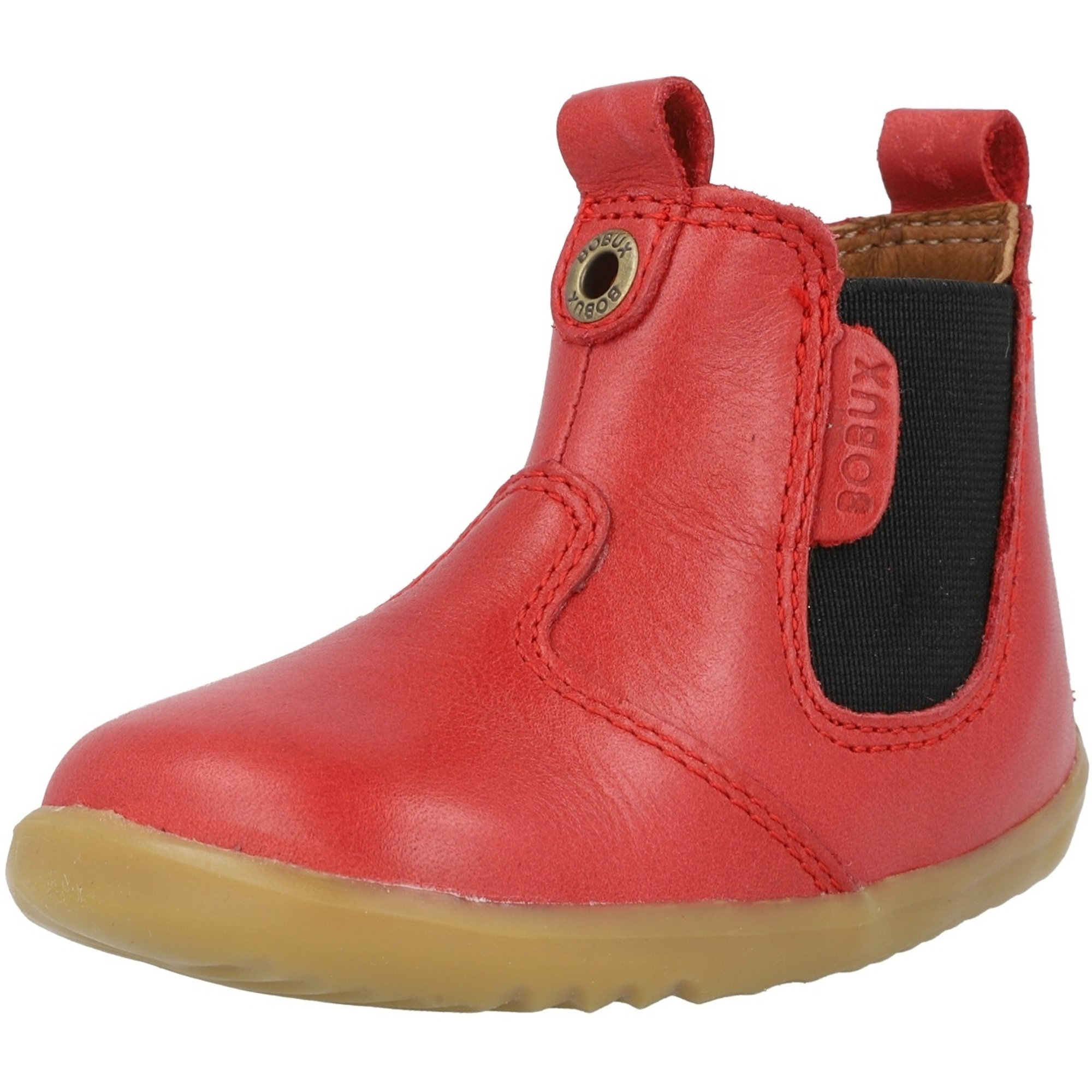 Bobux Childrens Toddlers Jodhpur Step Up Boot Red