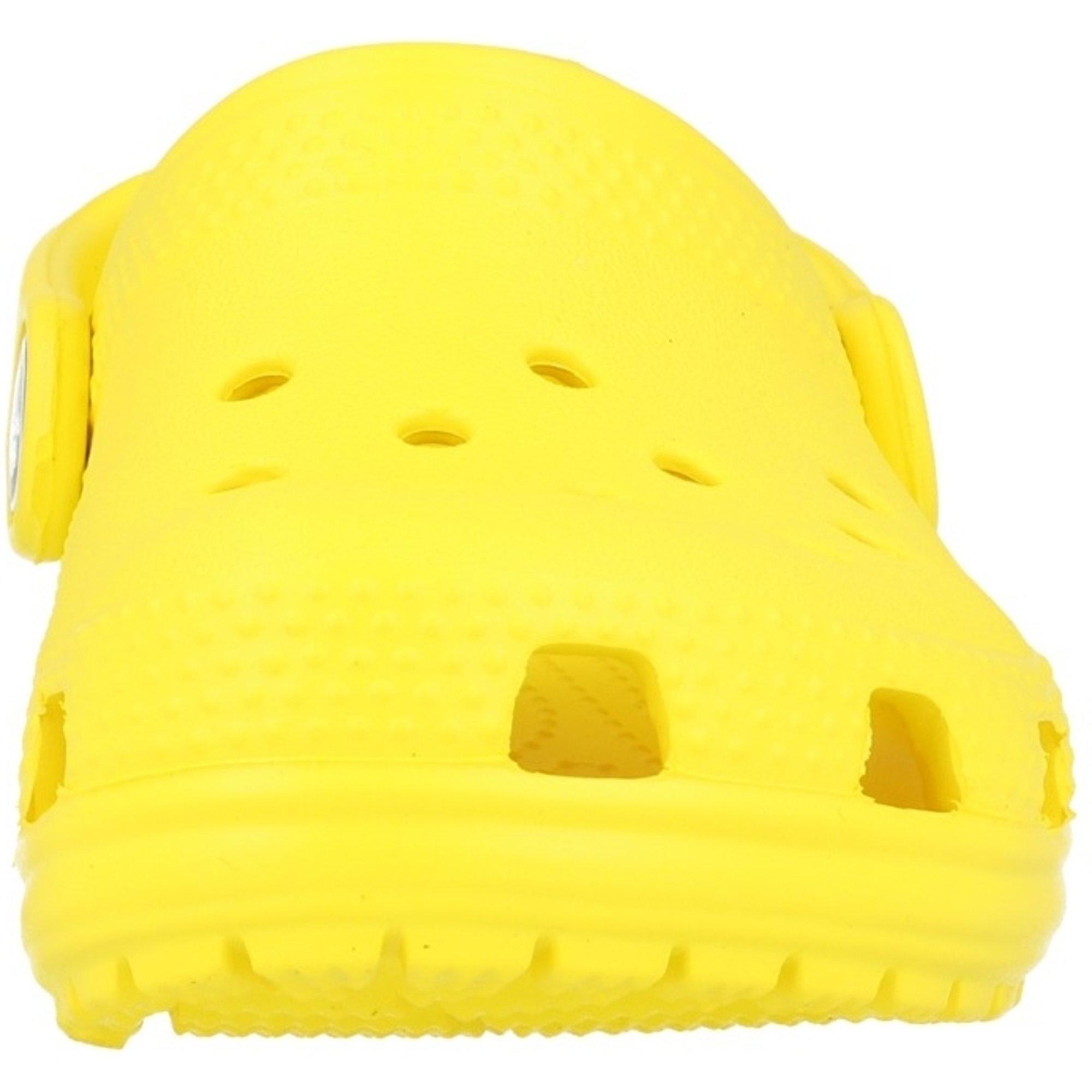 Crocs Kids Classic Clog Lemon Croslite