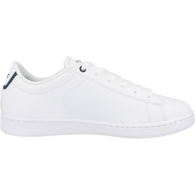 Lacoste Carnaby Evo BL 1 J White/Navy Synthetic