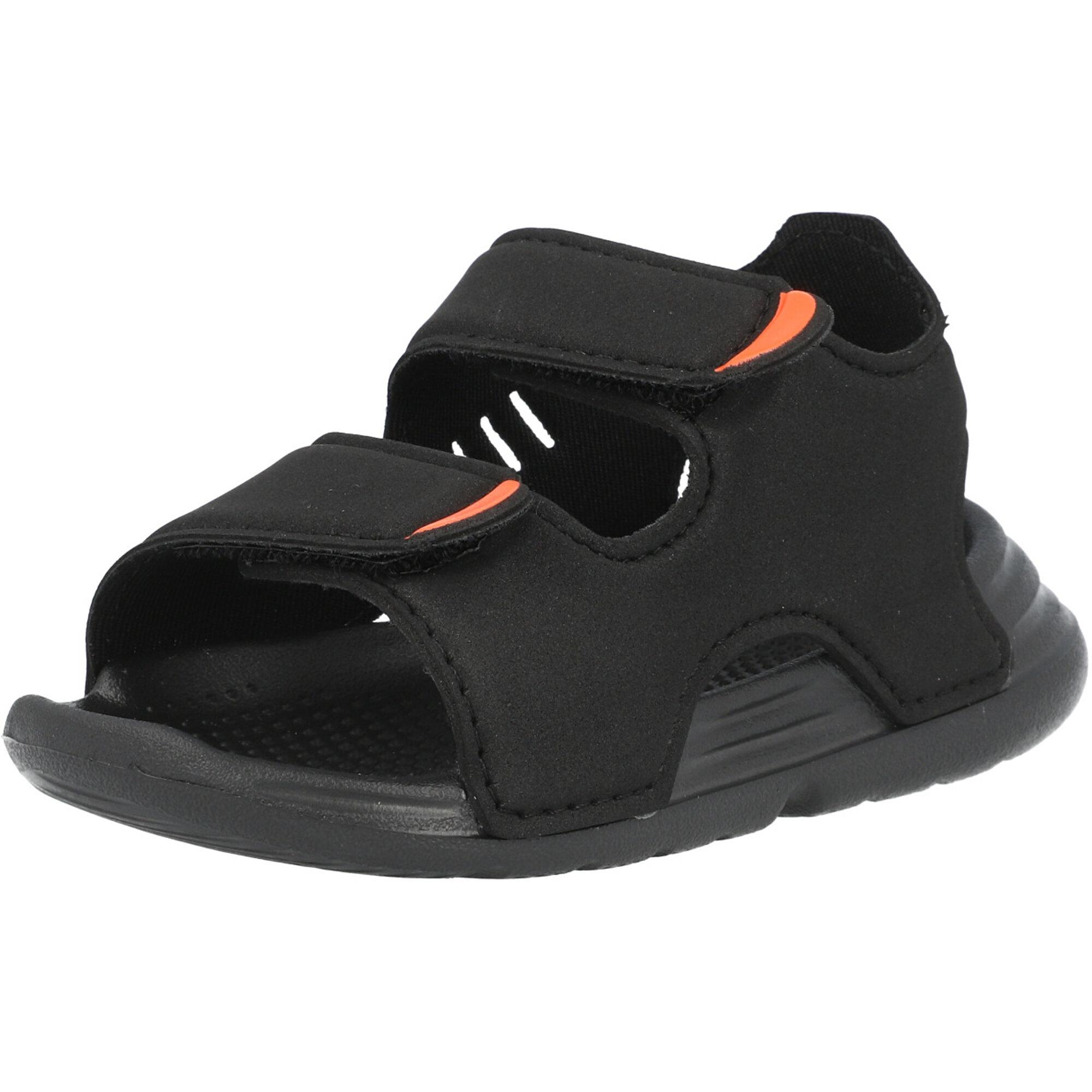 adidas Swim Sandal I Core Black/White Synthetic