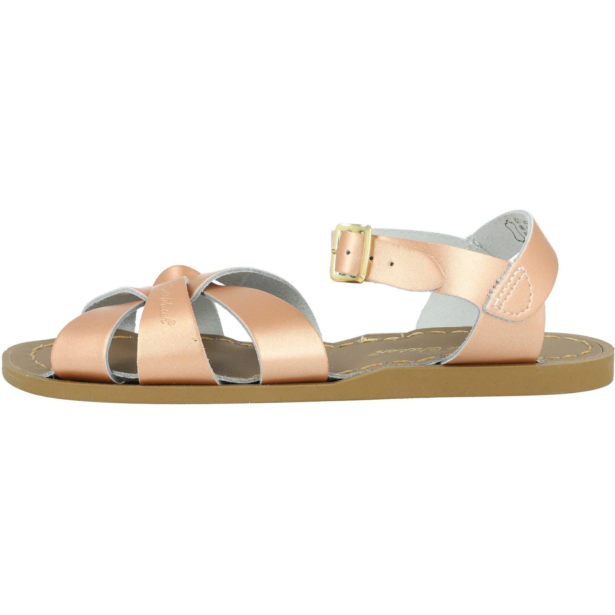 Salt Water Sandals Original Rose Gold Leather
