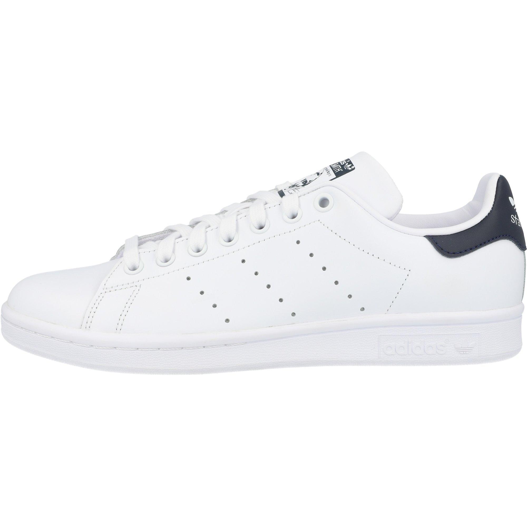 adidas Originals Stan Smith Core White/Dark Blue Leather