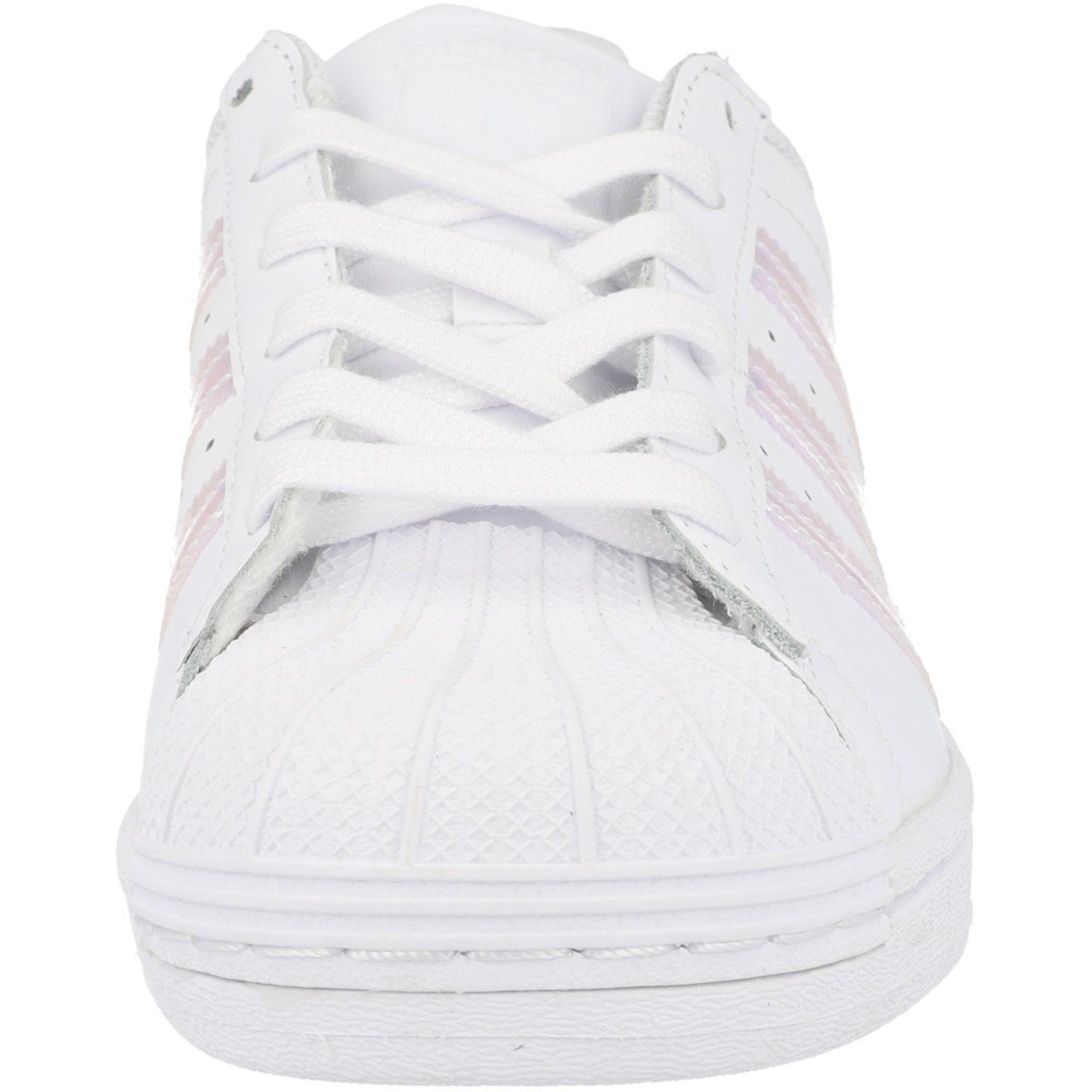 adidas Originals Superstar J White Leather