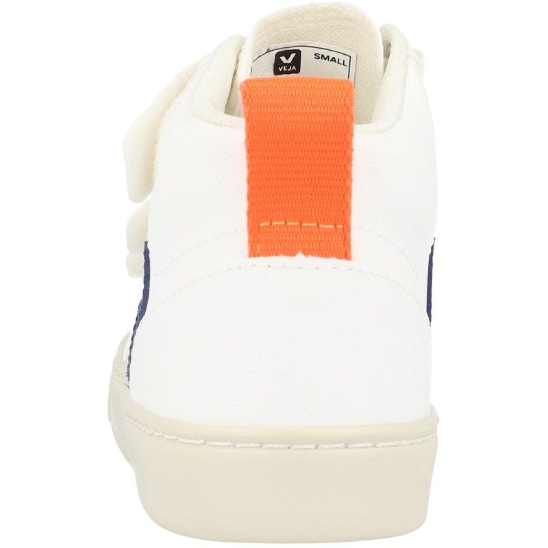 Veja V-10 Mid  J White/Cobalt Vegan