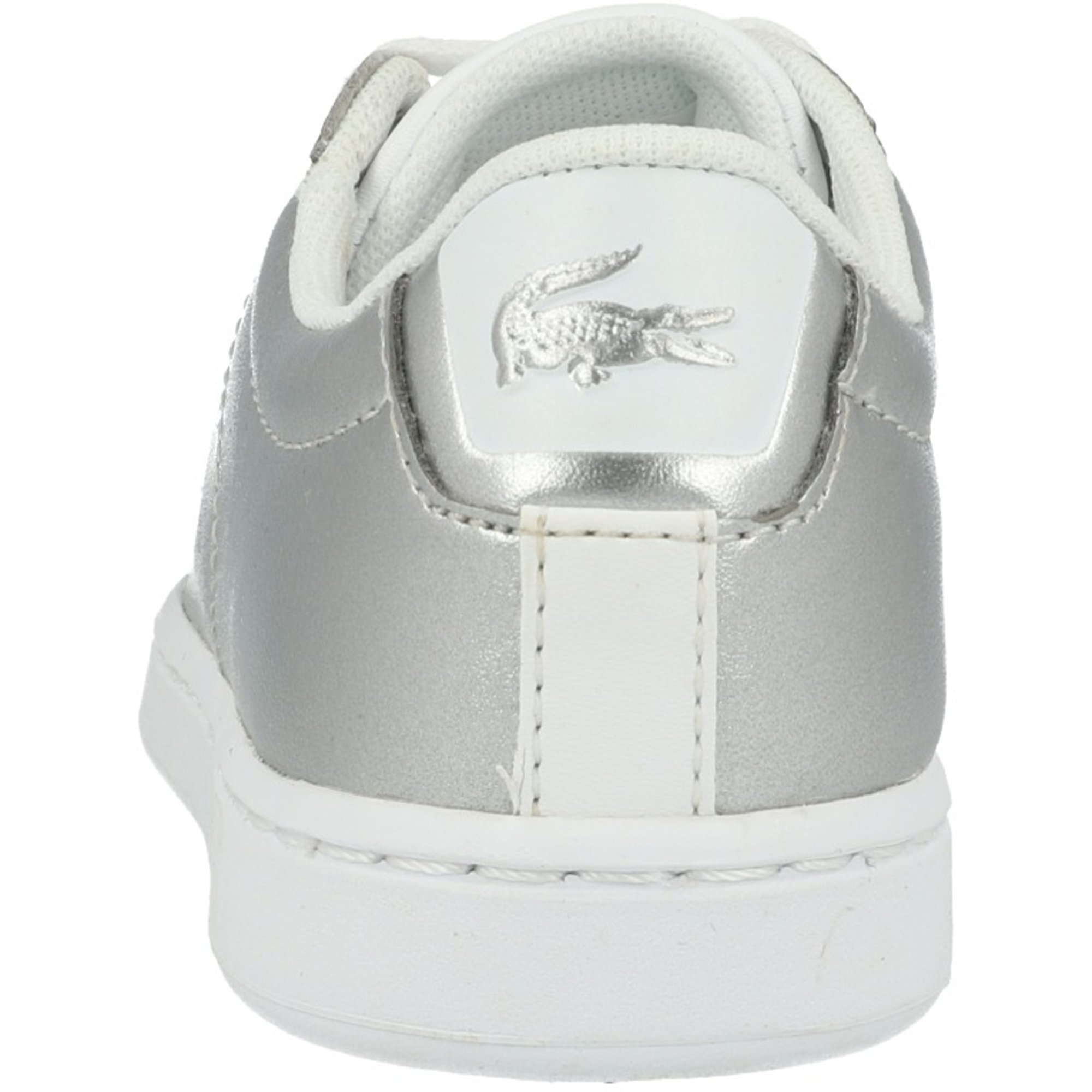 Lacoste Carnaby Evo 318 2 Silver Synthetic