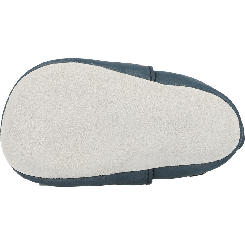 Bobux Soft Sole Racer Navy Leather