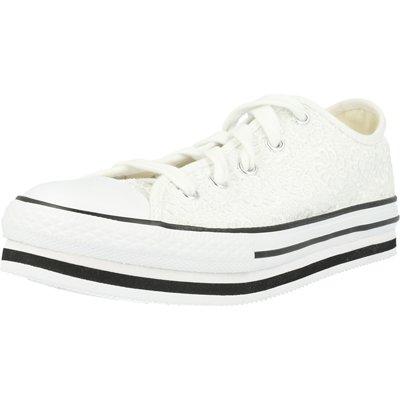 Chuck Taylor All Star Platform EVA Ox Daisy Crochet Junior childrens shoes