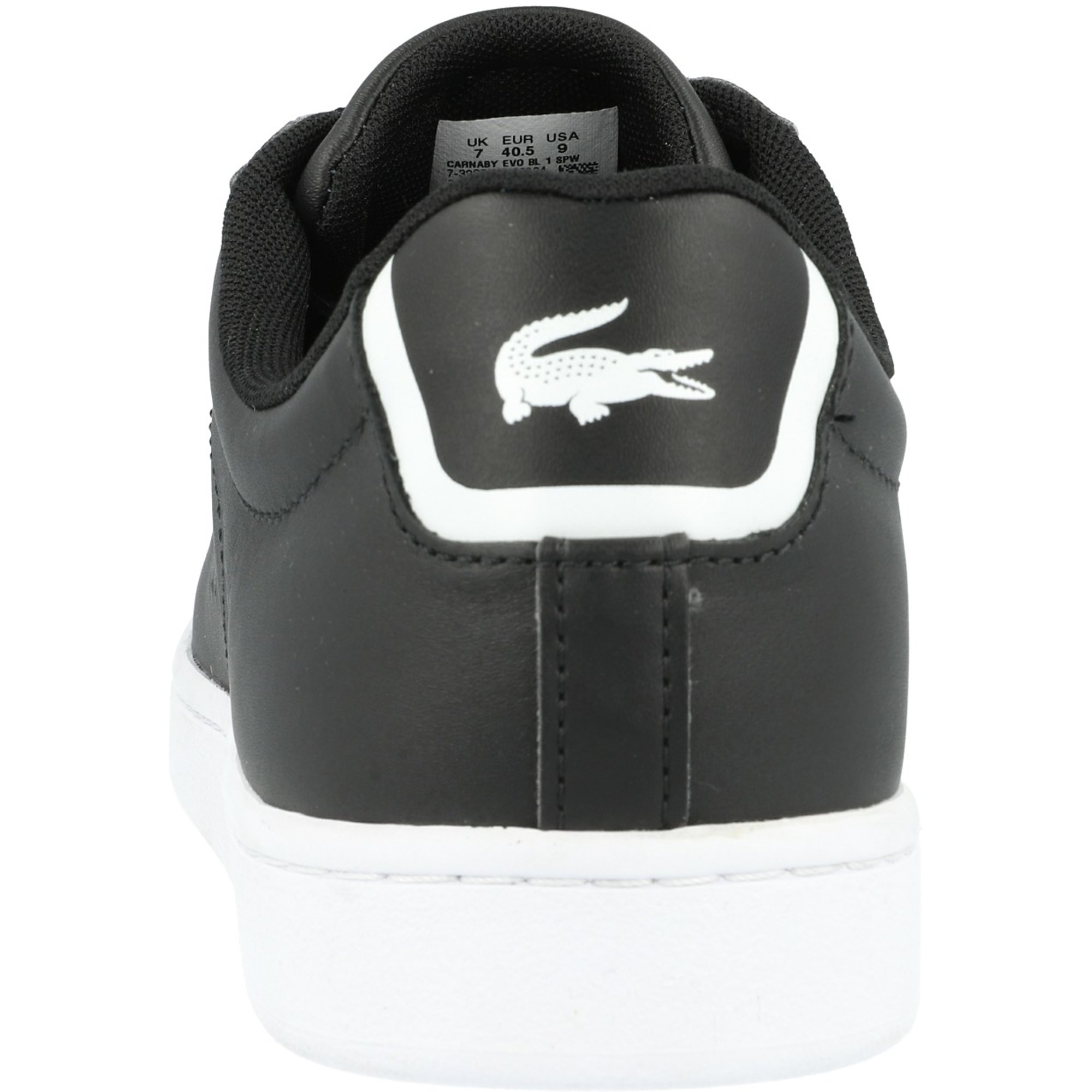 Lacoste Carnaby Evo BL 1 Black Leather