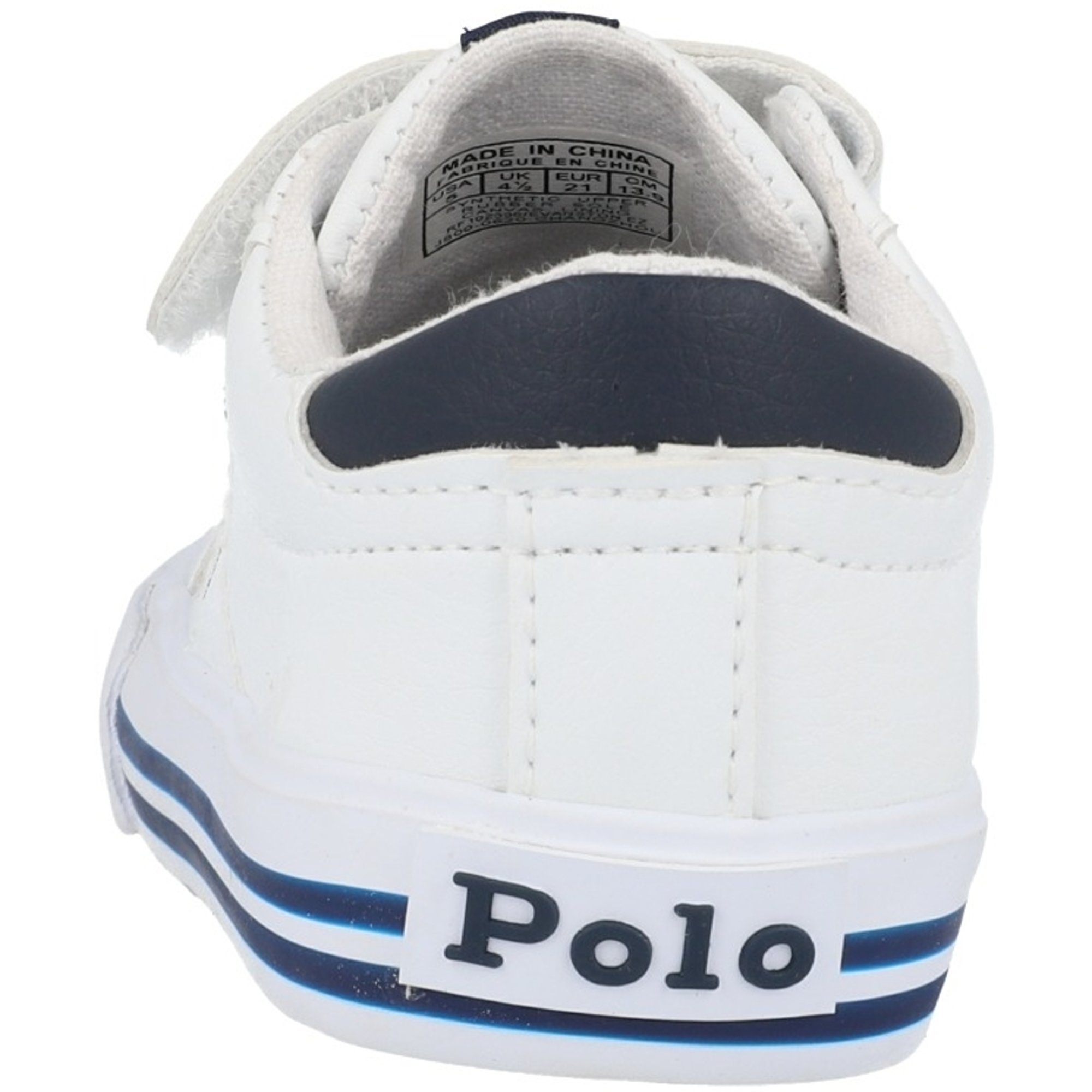 Polo Ralph Lauren Evanston EZ T White/Navy Tumbled
