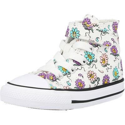 Chuck Taylor All Star 1V Hi Friendly Floral Infant childrens shoes