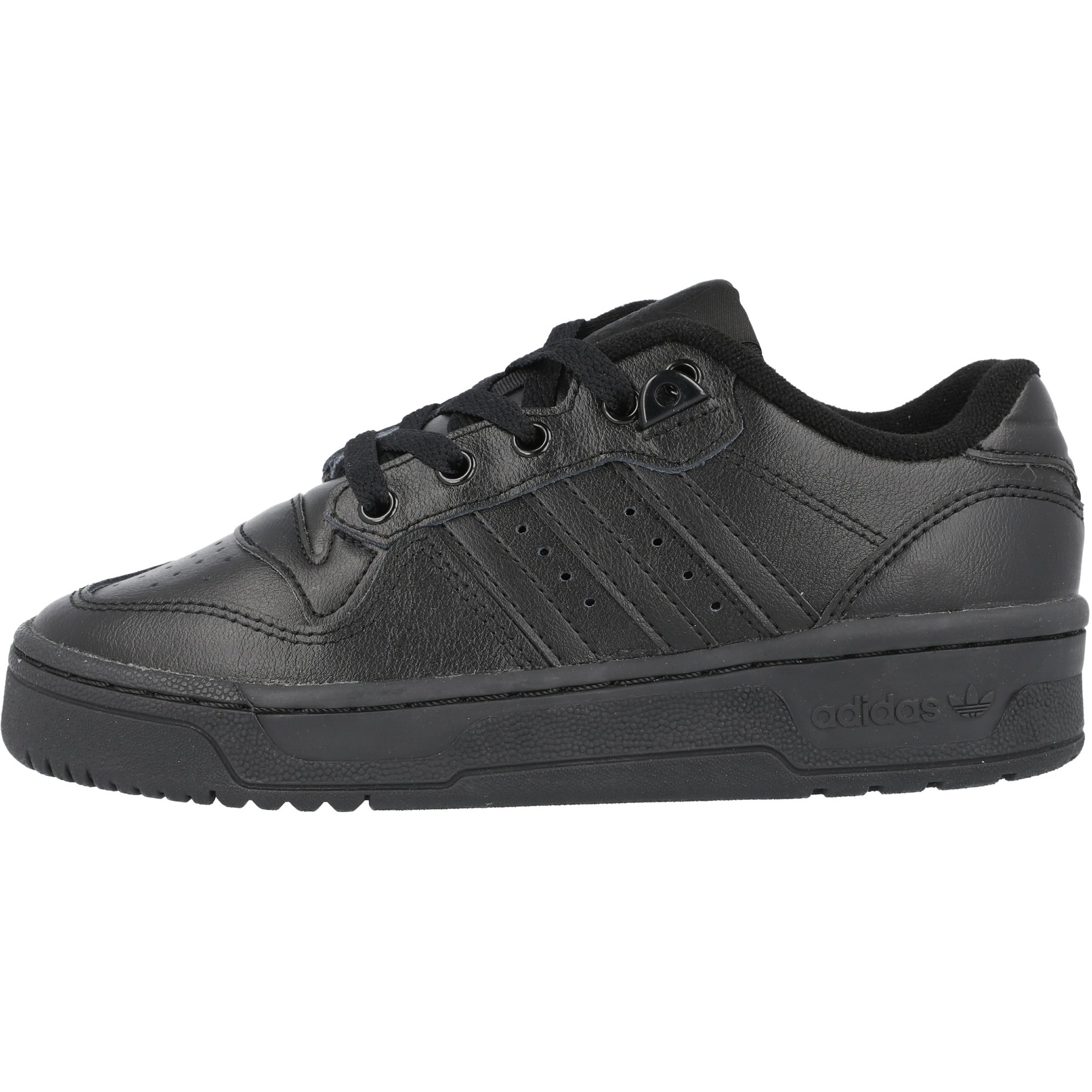 adidas Originals Rivalry Low J Black Leather