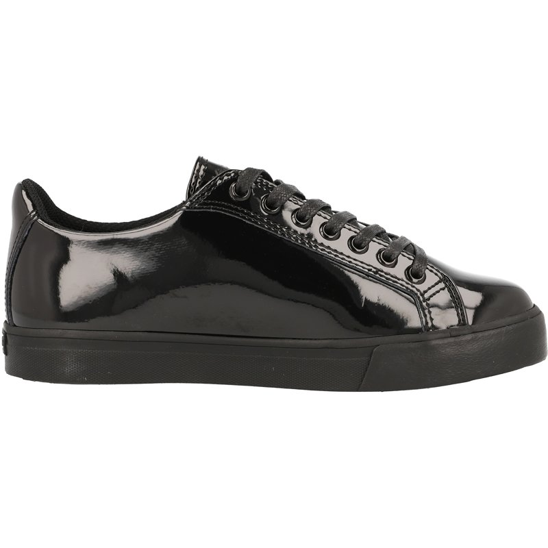 Kickers Tovni Lacer Y Black Patent