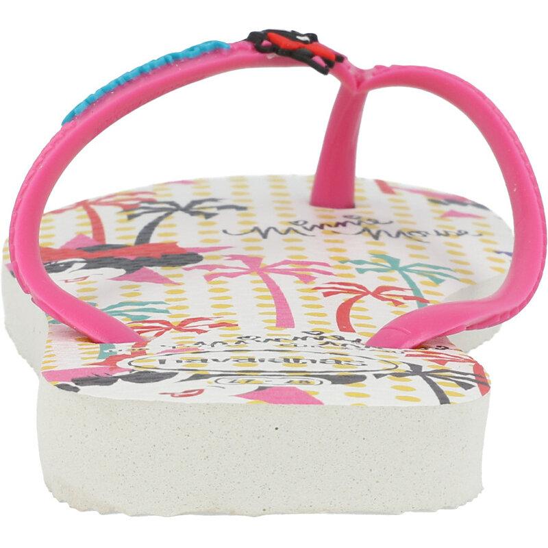 Havaianas Kids Disney Cool White/Pink Flux Rubber