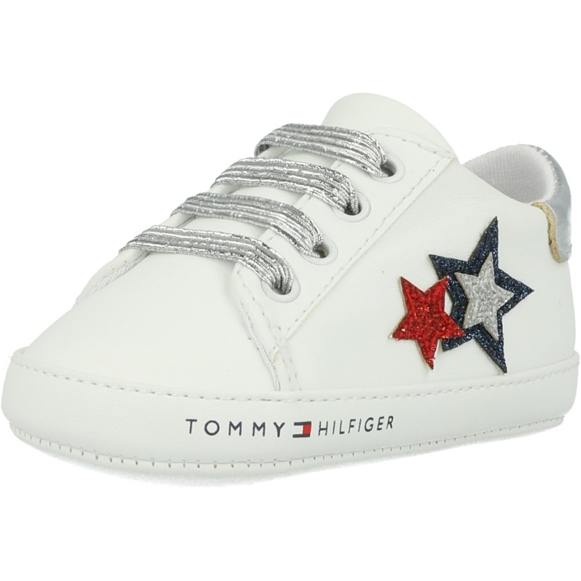 Tommy Hilfiger Crib White/Blue Textile