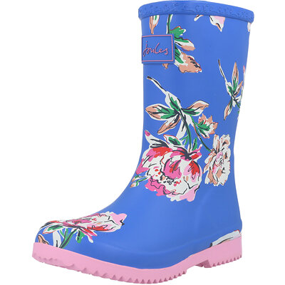 Jnr Roll Up Welly Floral Child childrens shoes