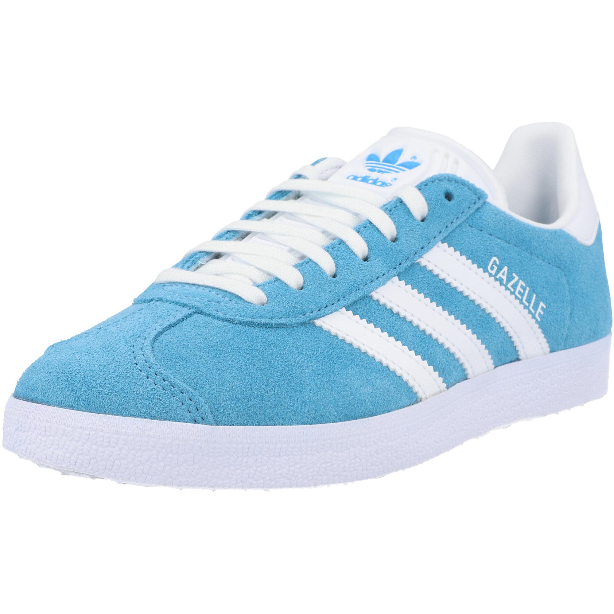 adidas Originals Gazelle W Blue/White Leather Adult