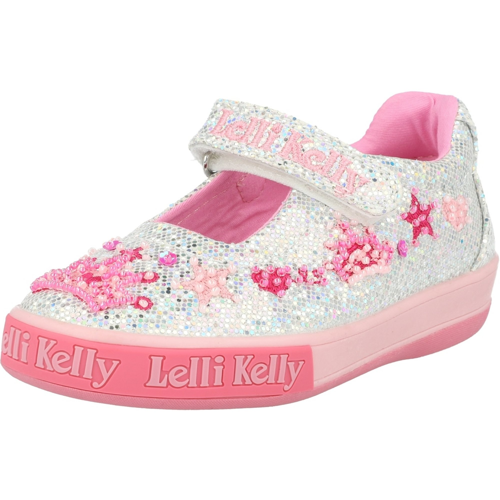 Lelli Kelly Tiara Dolly Silver Glitter