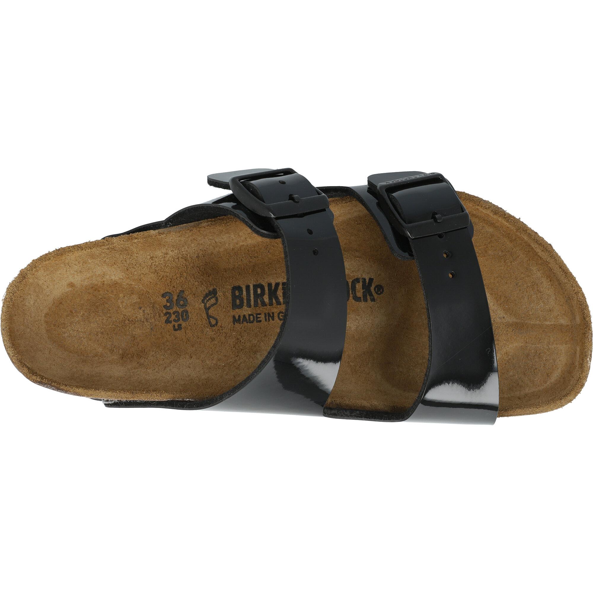 Birkenstock Arizona Black Birko-Flor Patent