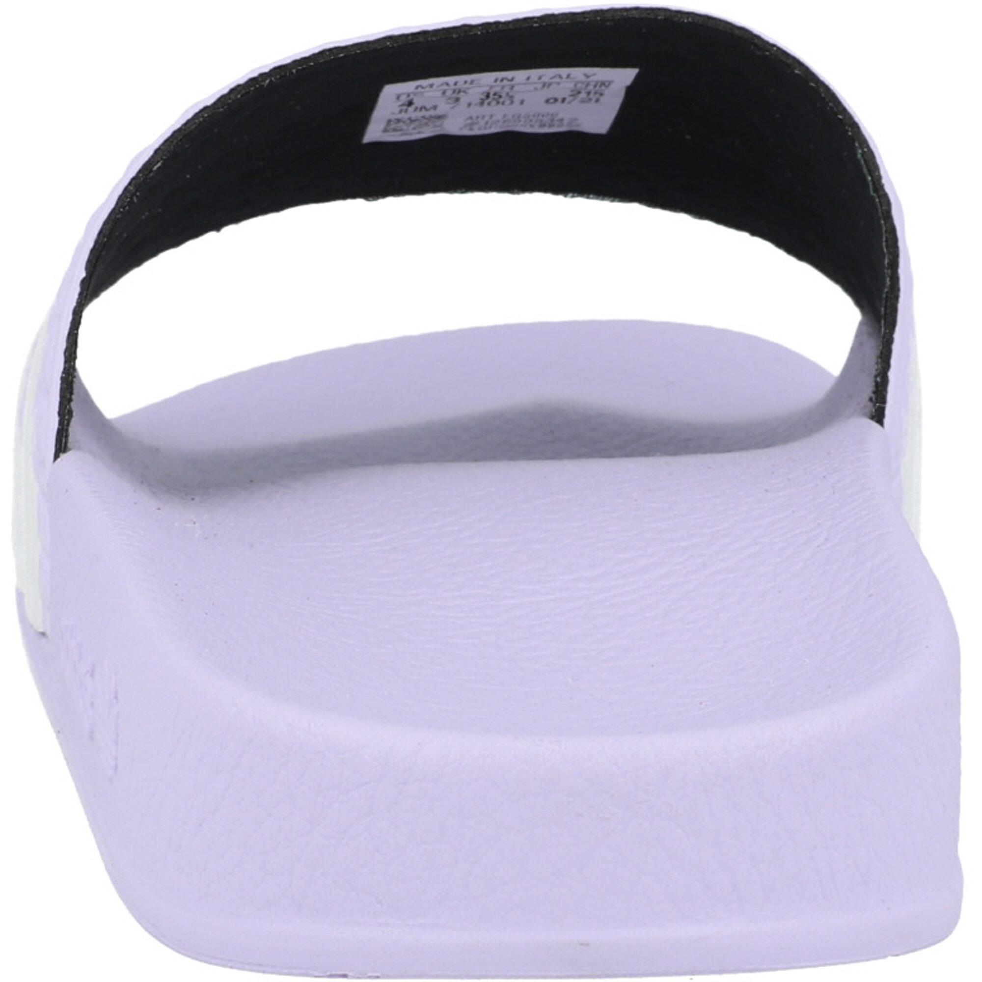 adidas Originals adilette W Purple Tint/White Synthetic