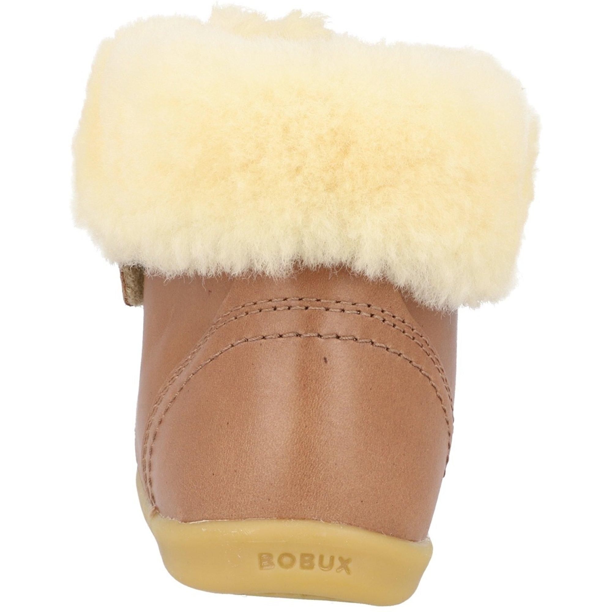 Bobux i-Walk Desert Arctic Caramel Vintage-Look Quickdry Leather