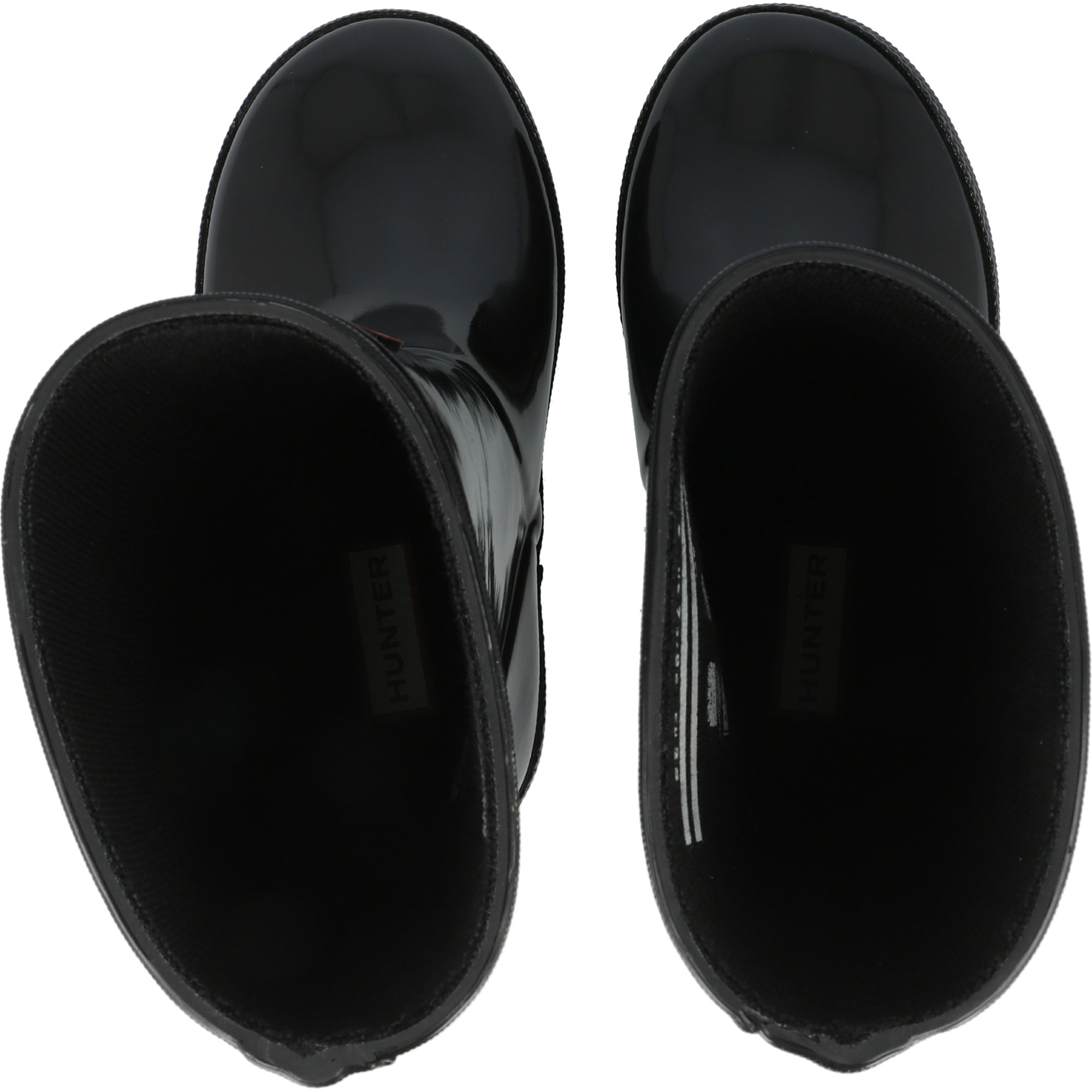 Hunter Kids First Gloss Black Rubber