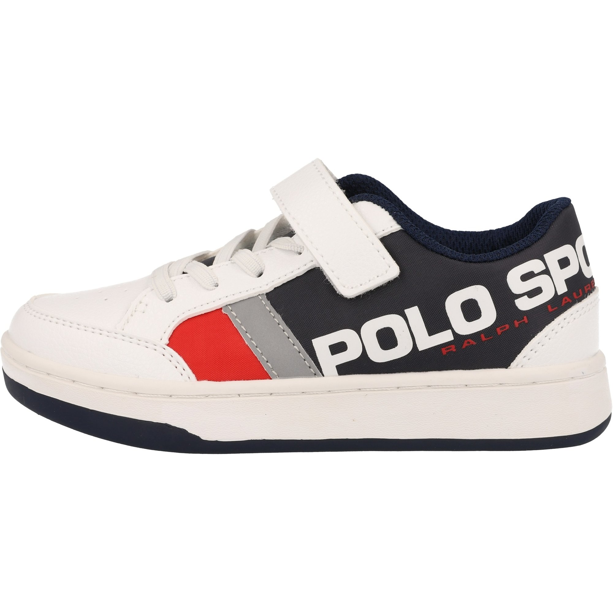 Polo Ralph Lauren Belden PS C White/Navy Tumbled