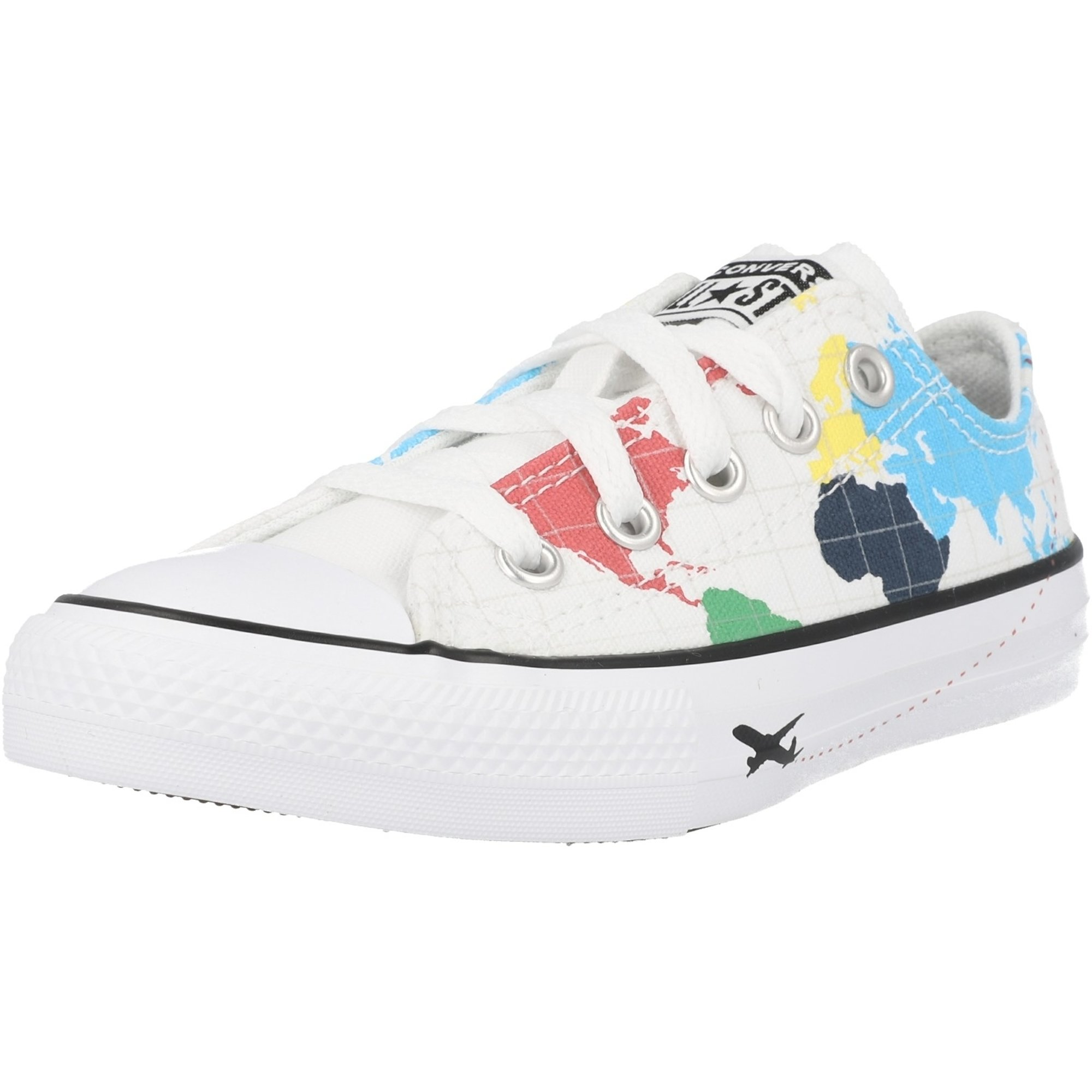Converse Chuck Taylor All Star Geography Class Ox White/Black Canvas