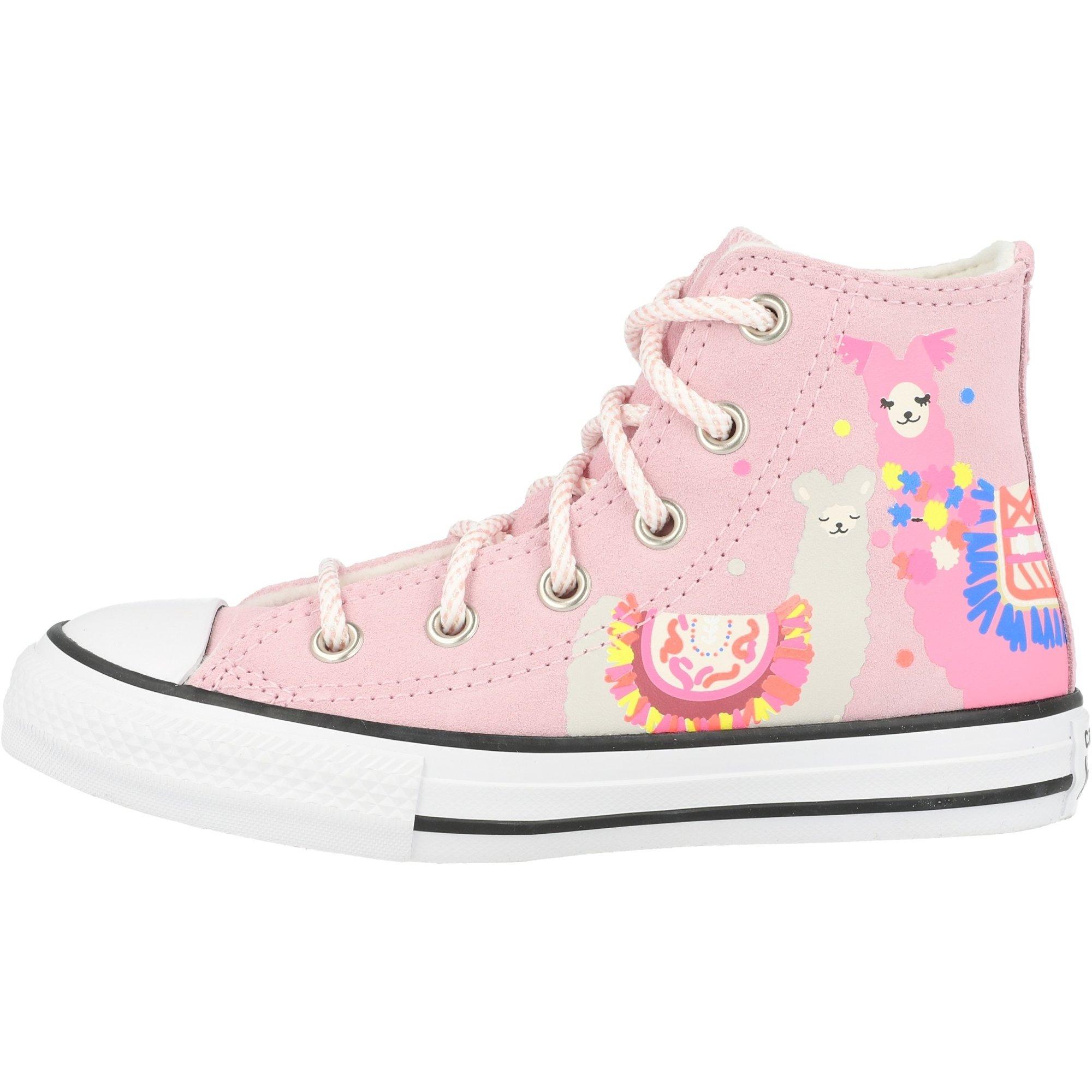 Converse Chuck Taylor All Star Hi Lama Cherry Blossom/Black Suede