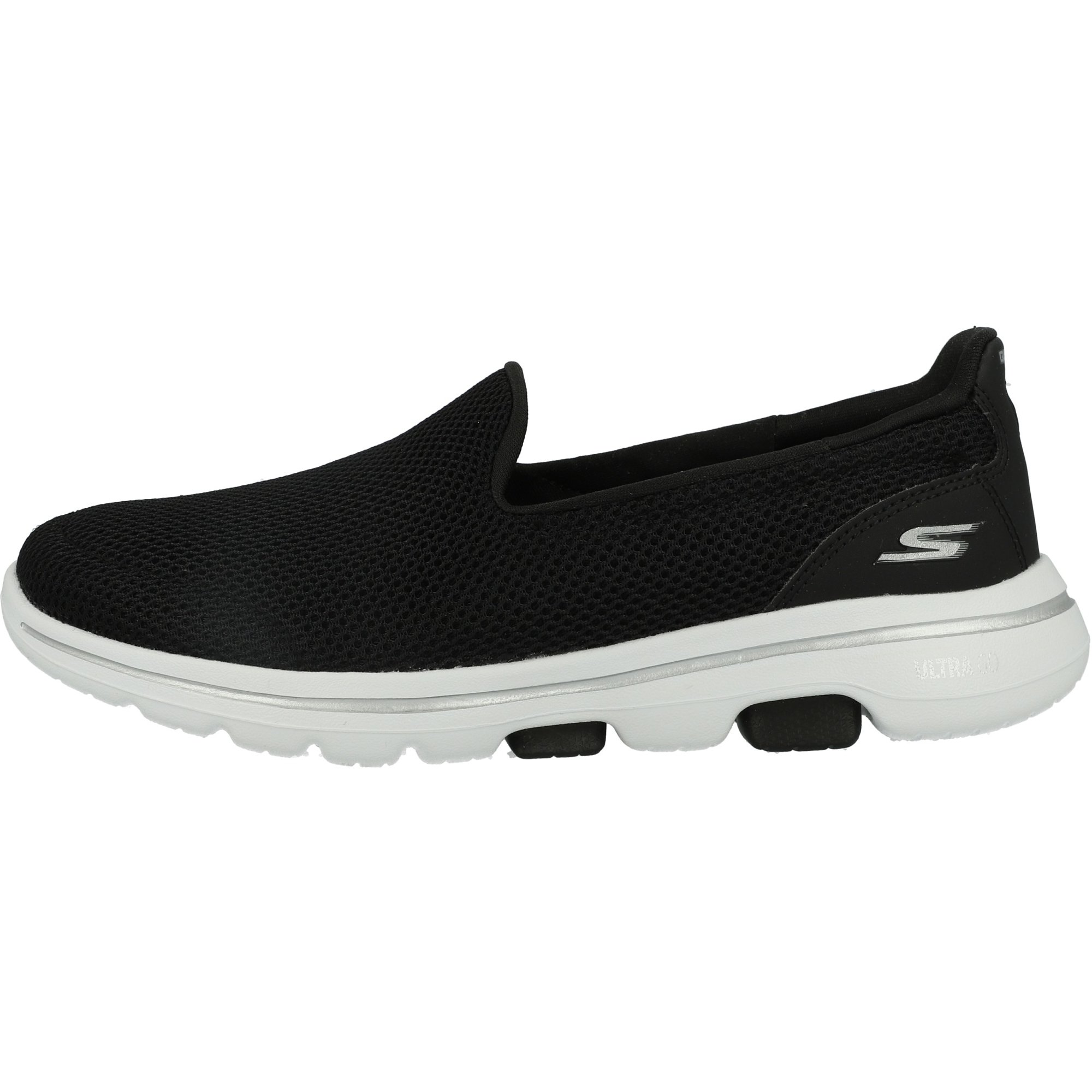 Skechers Go Walk 5 Black/White Mesh